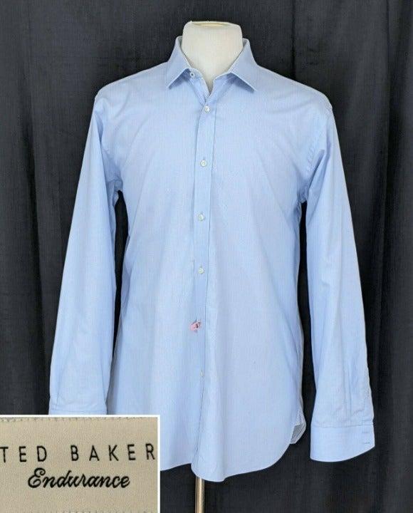 Ted Baker Men's Flip Cuff Dress Shirt