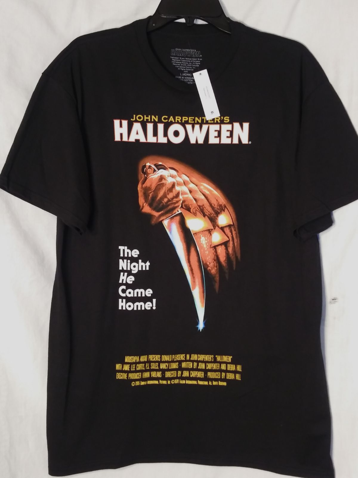John Carpenters Halloween Movie T Shirt