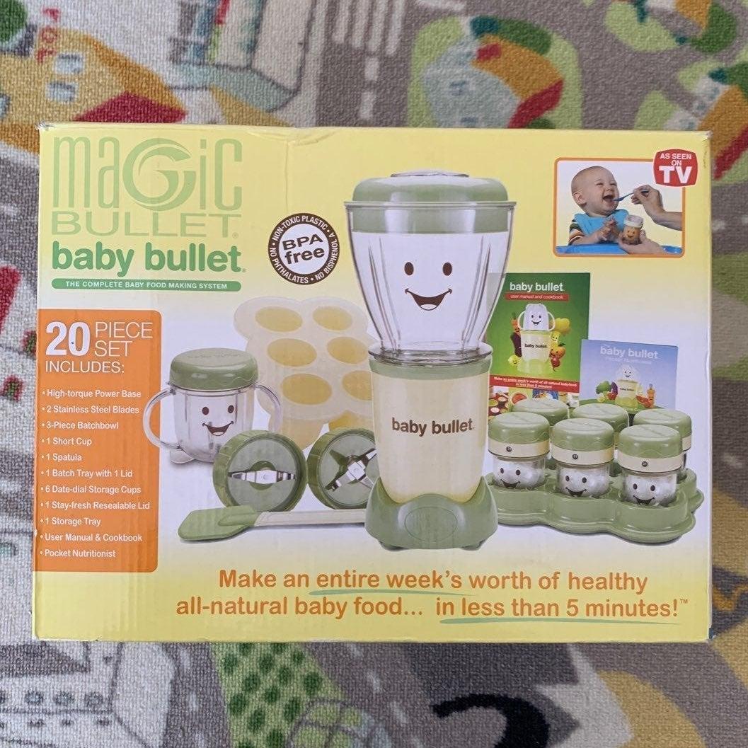 Magic Baby Bullet 20pc Set New In Box