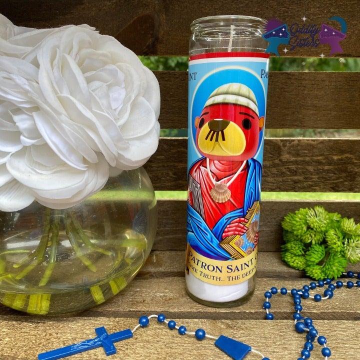 Saint Pascal Prayer Candle