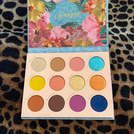 Colourpop Cabana Club Palette