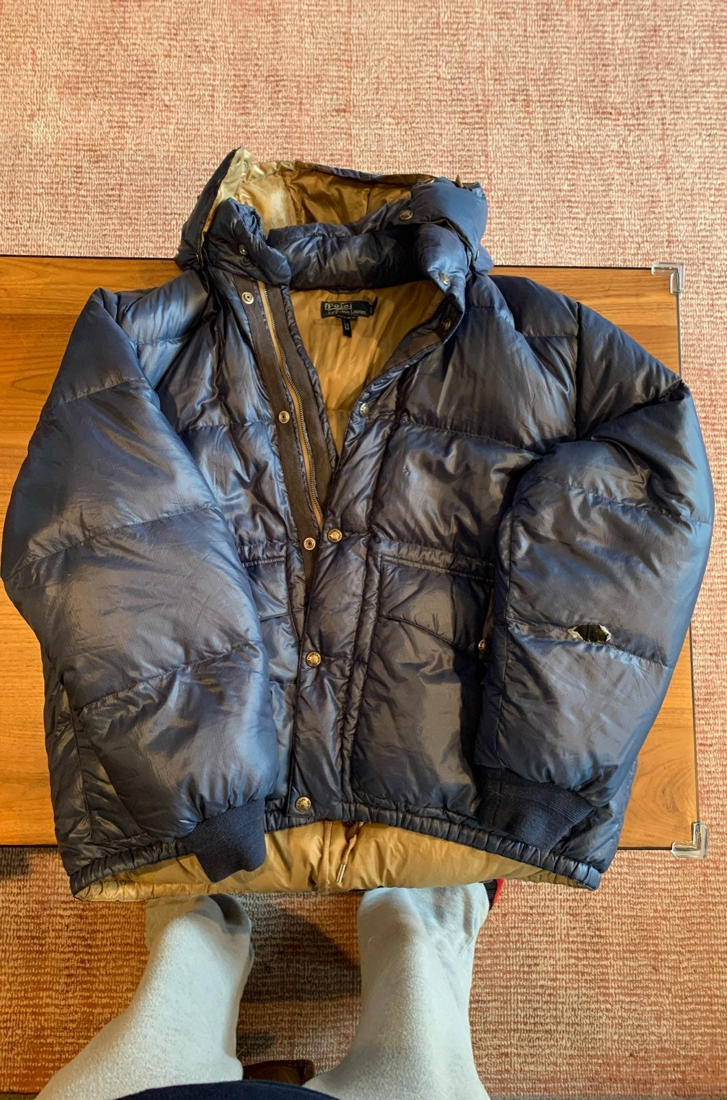 Men's Polo Down Jacket