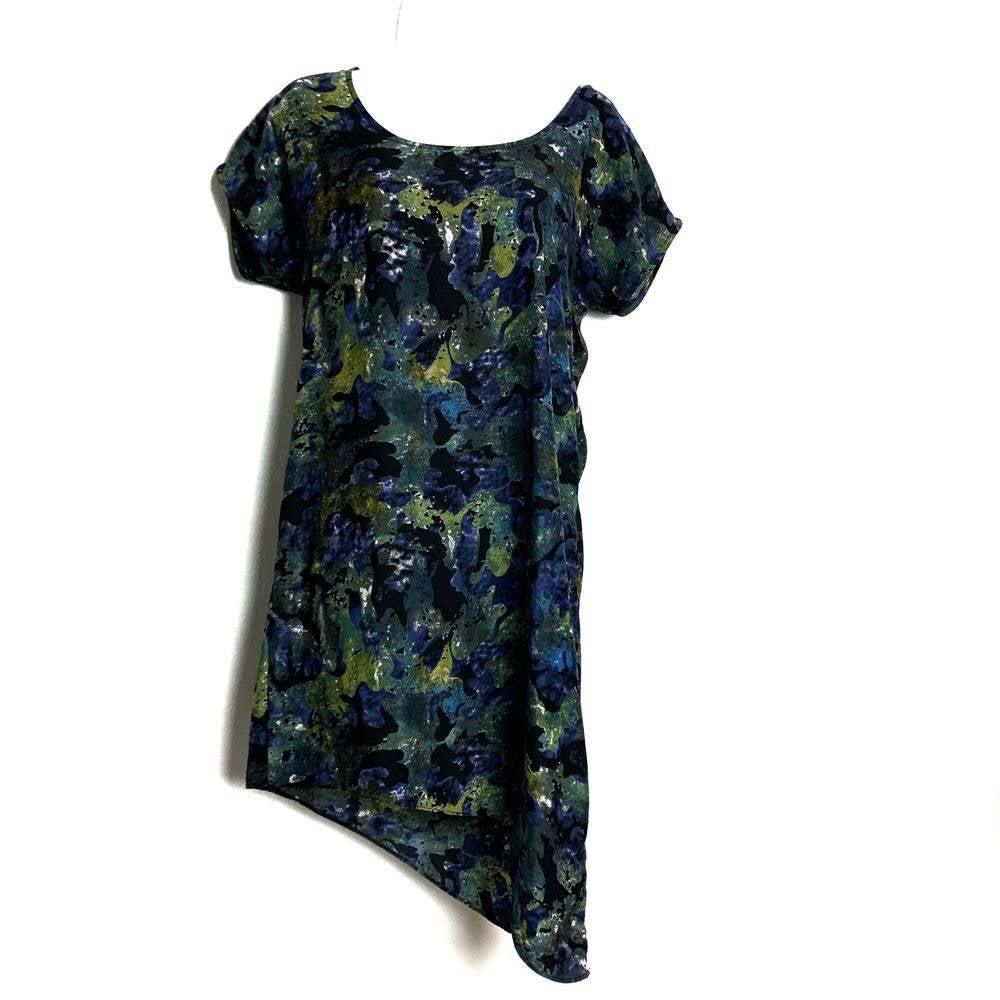 Silence & Noise shift Watercolor dress