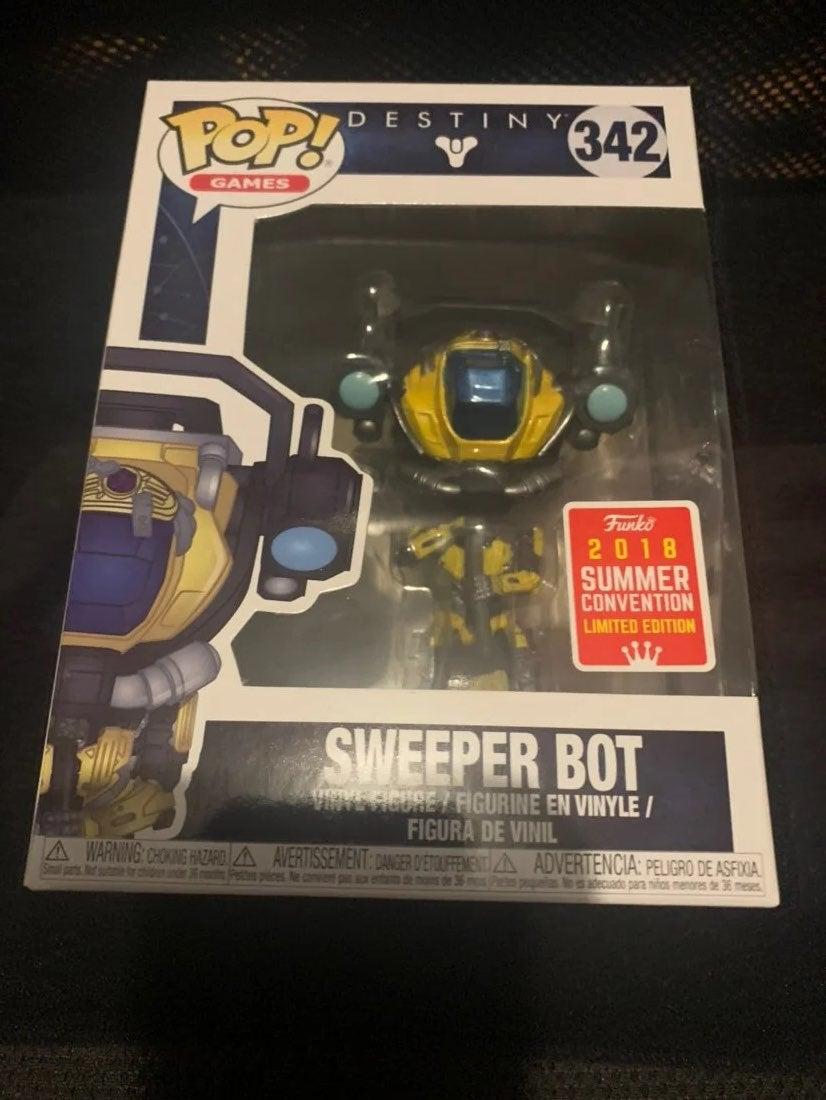 Destiny Sweeper Bot Funko Pop