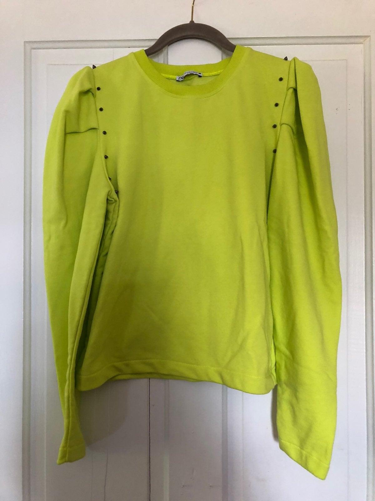 Zara Spike Studded Sweatshirt