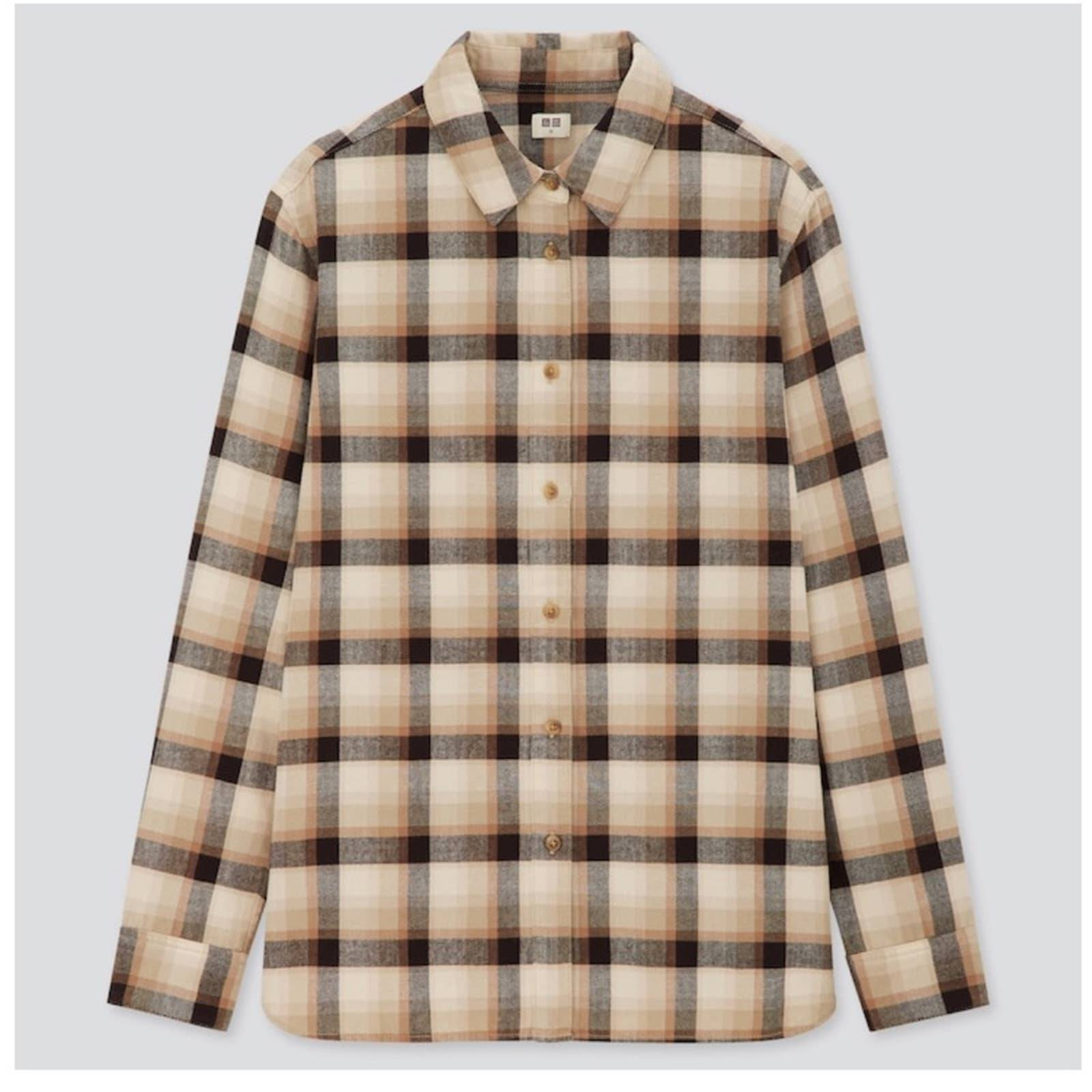 UNIQLO Plaid Flannel Checked Shirt
