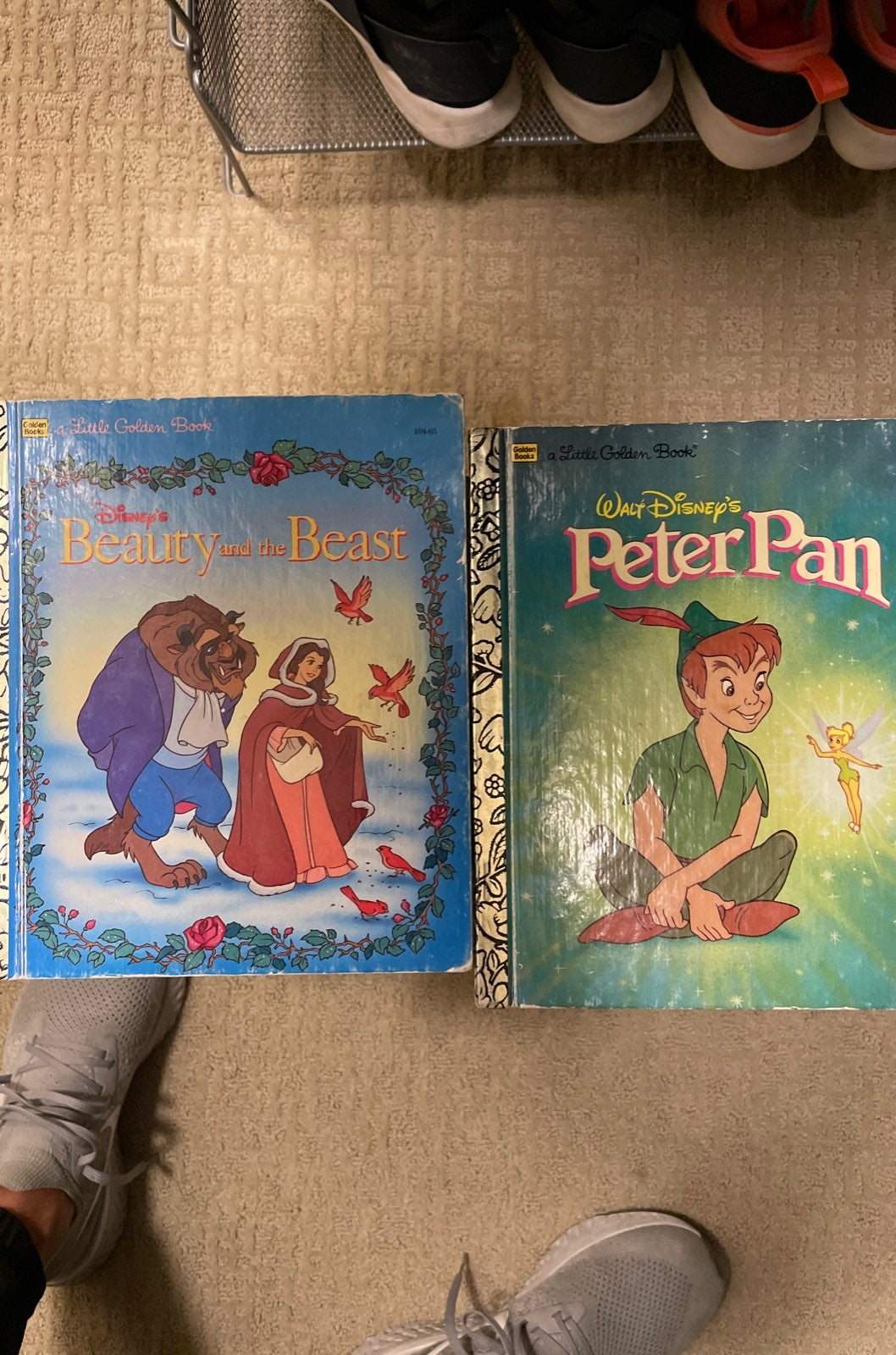 Golden Books Peten Pan and Beuty & The B