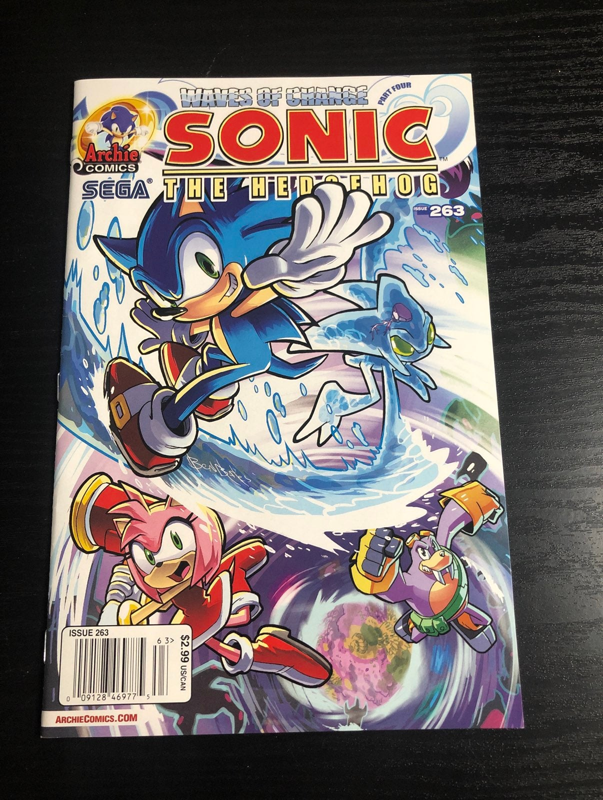 Sonic the Hedgehog comic issue 263