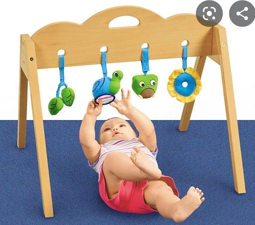 Lakeshore learning baby gym wood