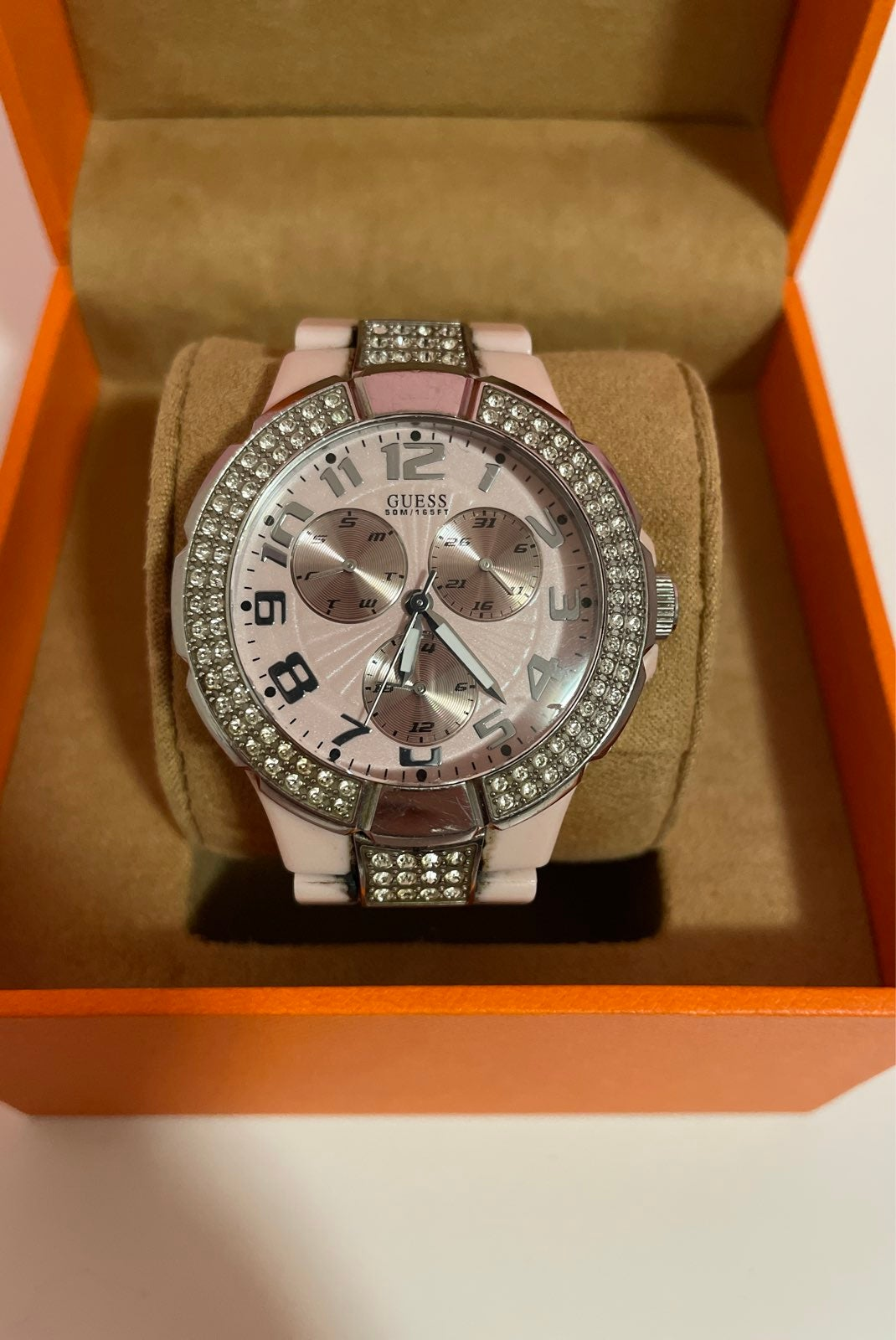 GUESS watch - pink