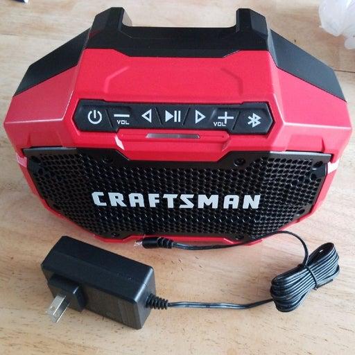 Craftsman Cmcr001 Bluetooth Speaker
