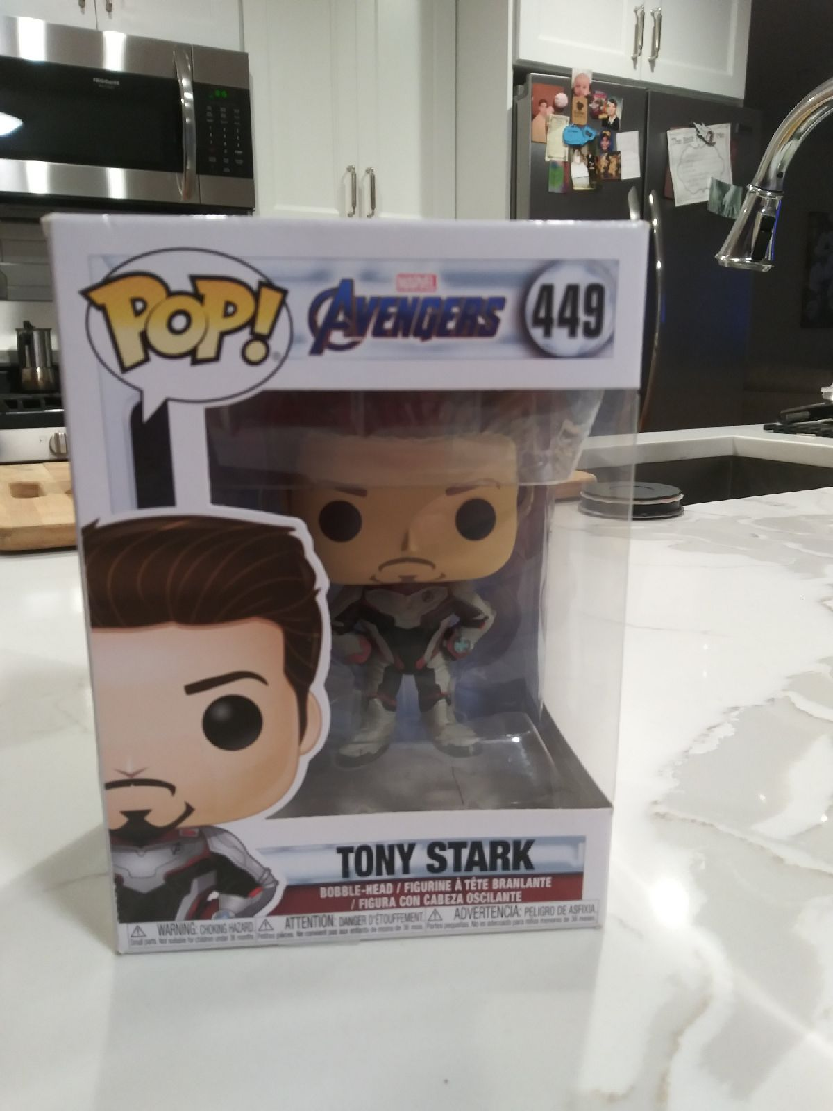 Pop Marvel Avengers Tony Stark