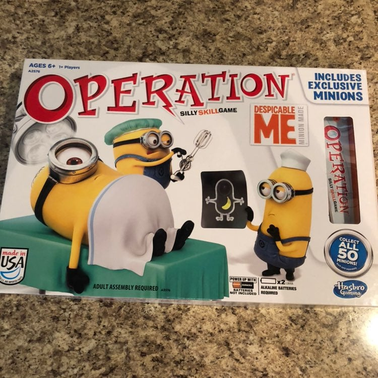 Minion operation game