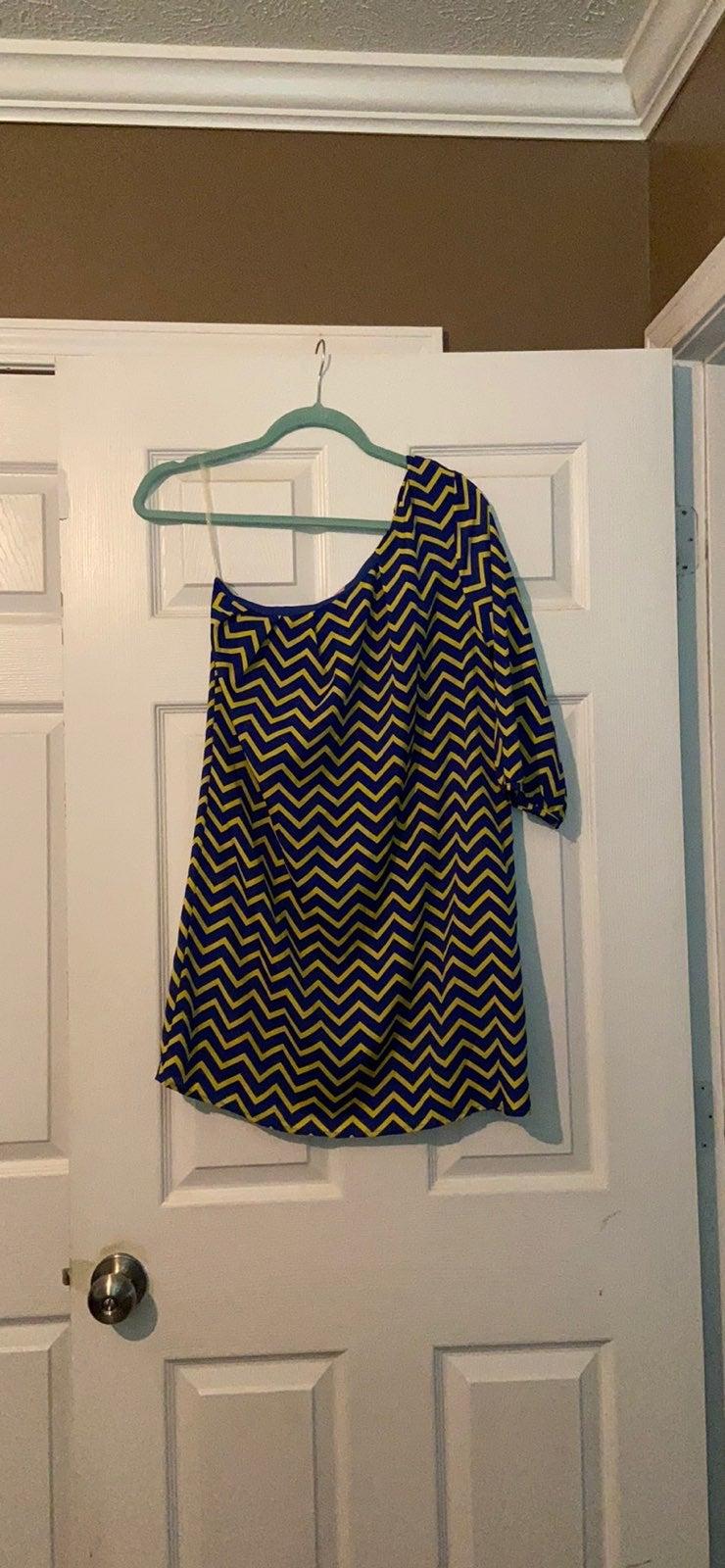 Boutique one shoulder dress
