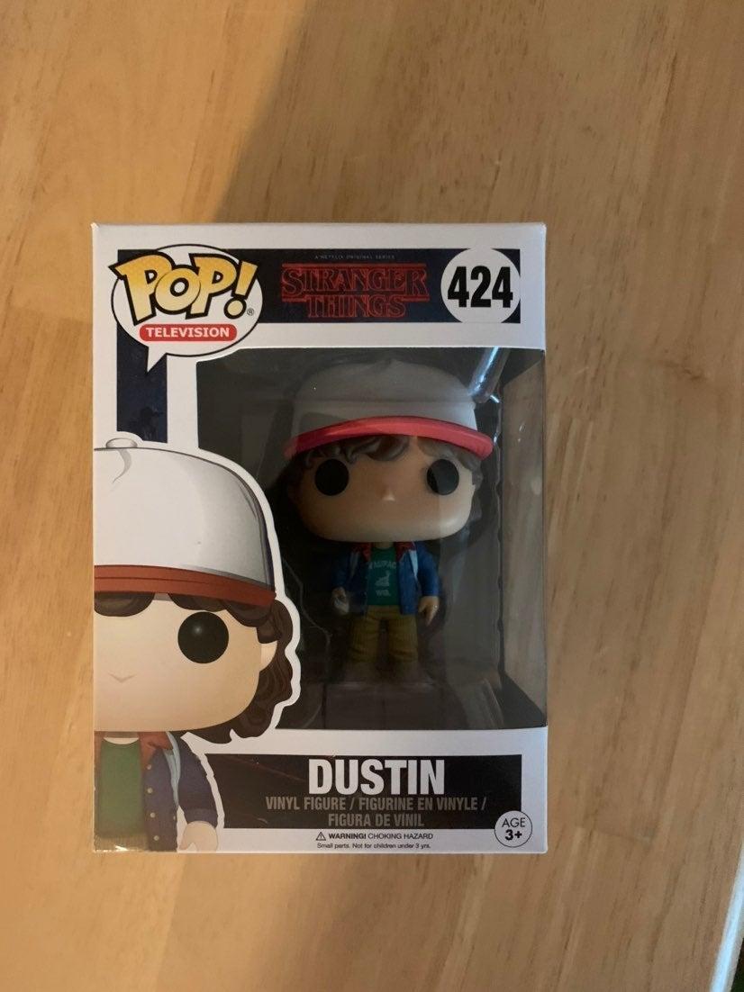 Stranger Things Dustin Funko Pop