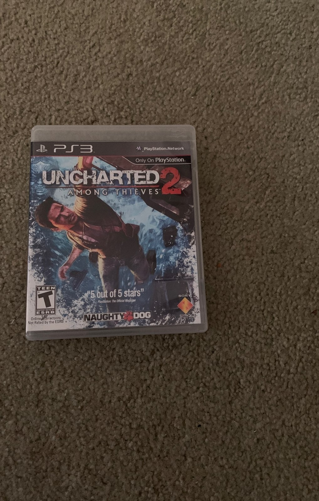 ps3 game uncharted 2