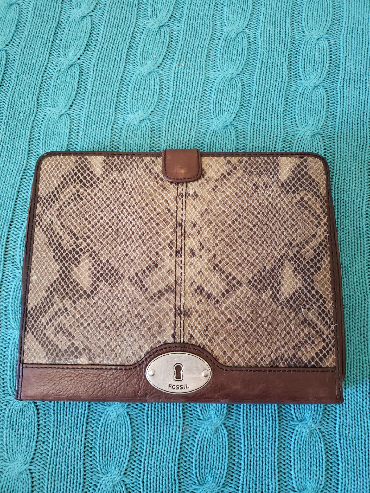 Brown Fossil Tablet iPad case cover