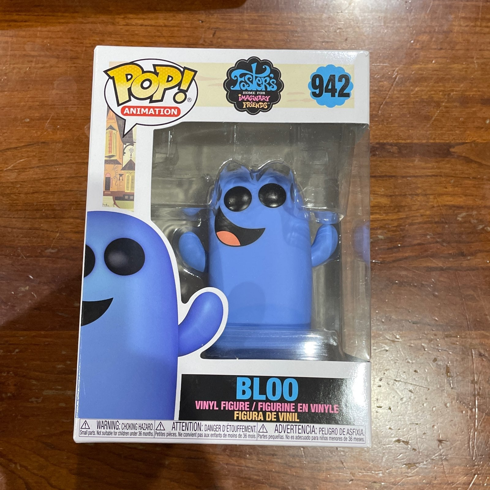 Funko Pop Bloo fosters home for imaginar