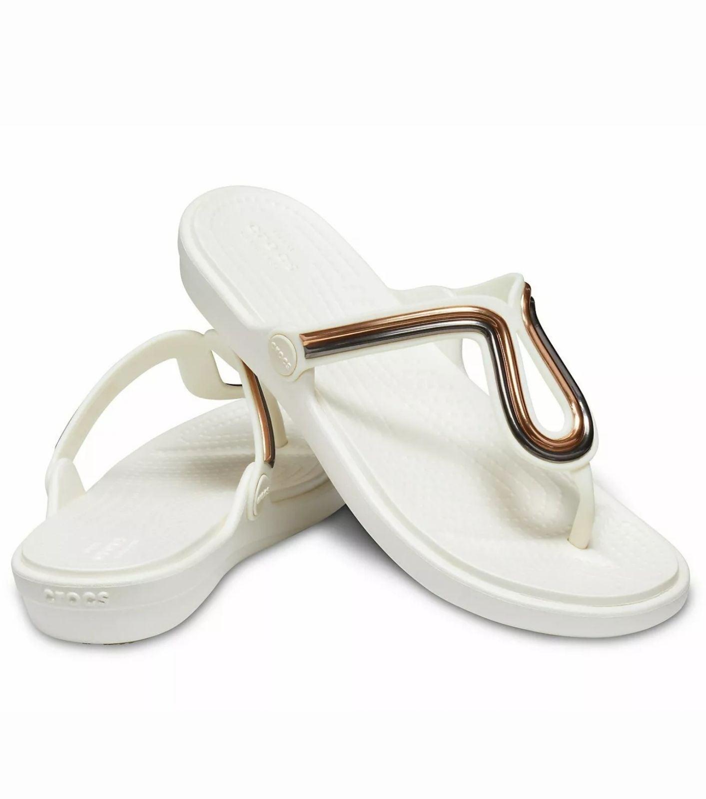Crocs size 8 sandals flip flop size 8