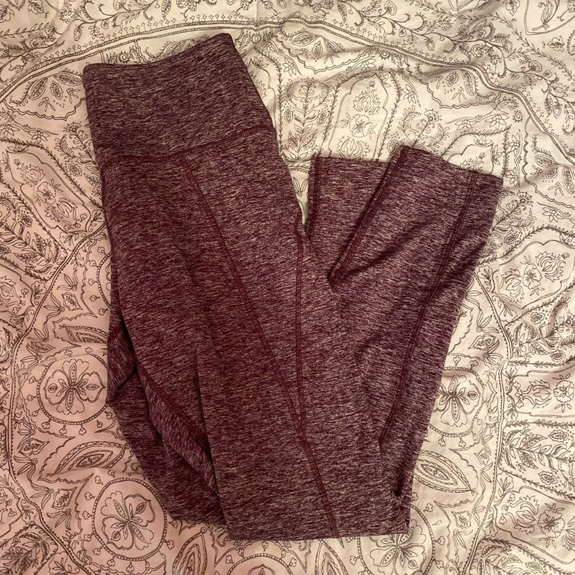 PINK cozy leggings (purple)