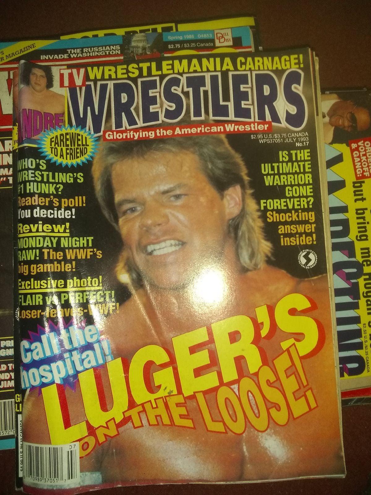 July 93 tv wrestlers magazine