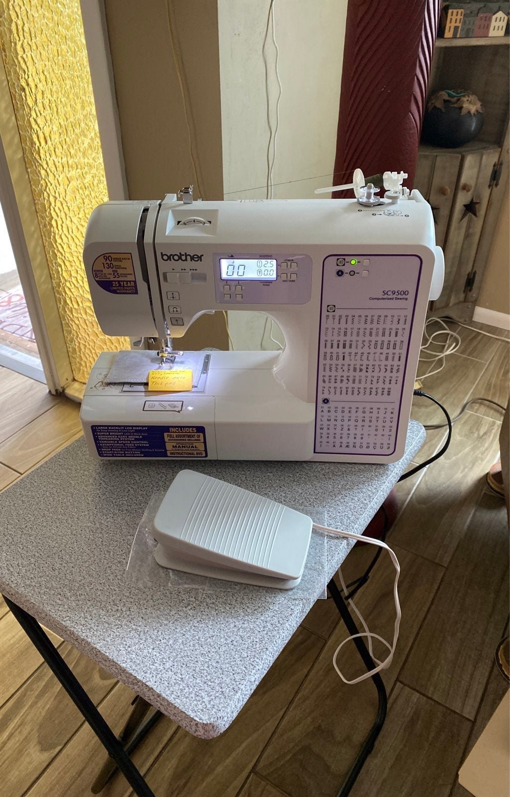 Brother SC9500 Sewing Quilting  Machine