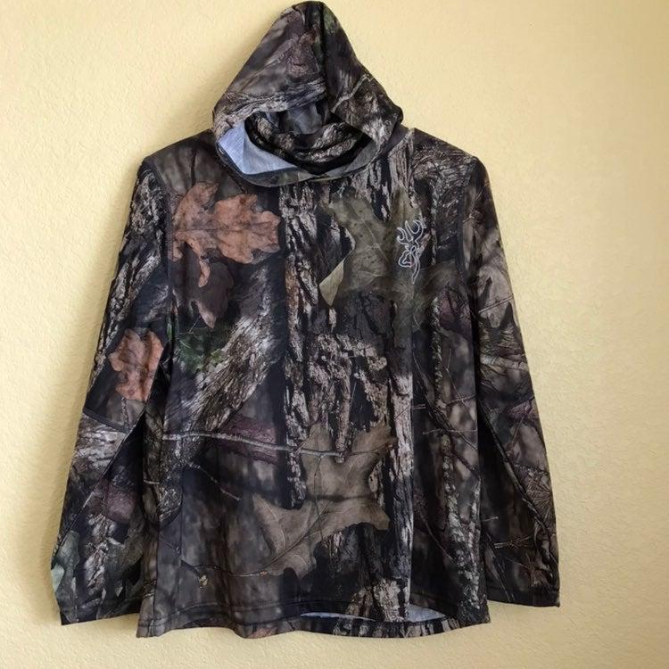 Youth Hoodie Camo Hunting shirt