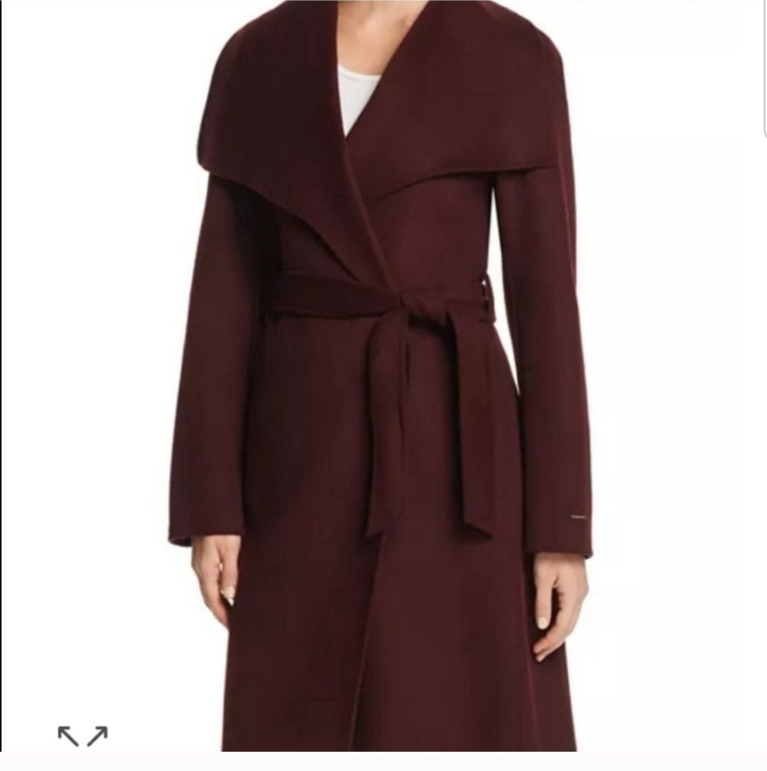 Tahari wool coat