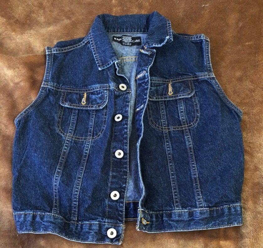 Express jeans Denim Vest
