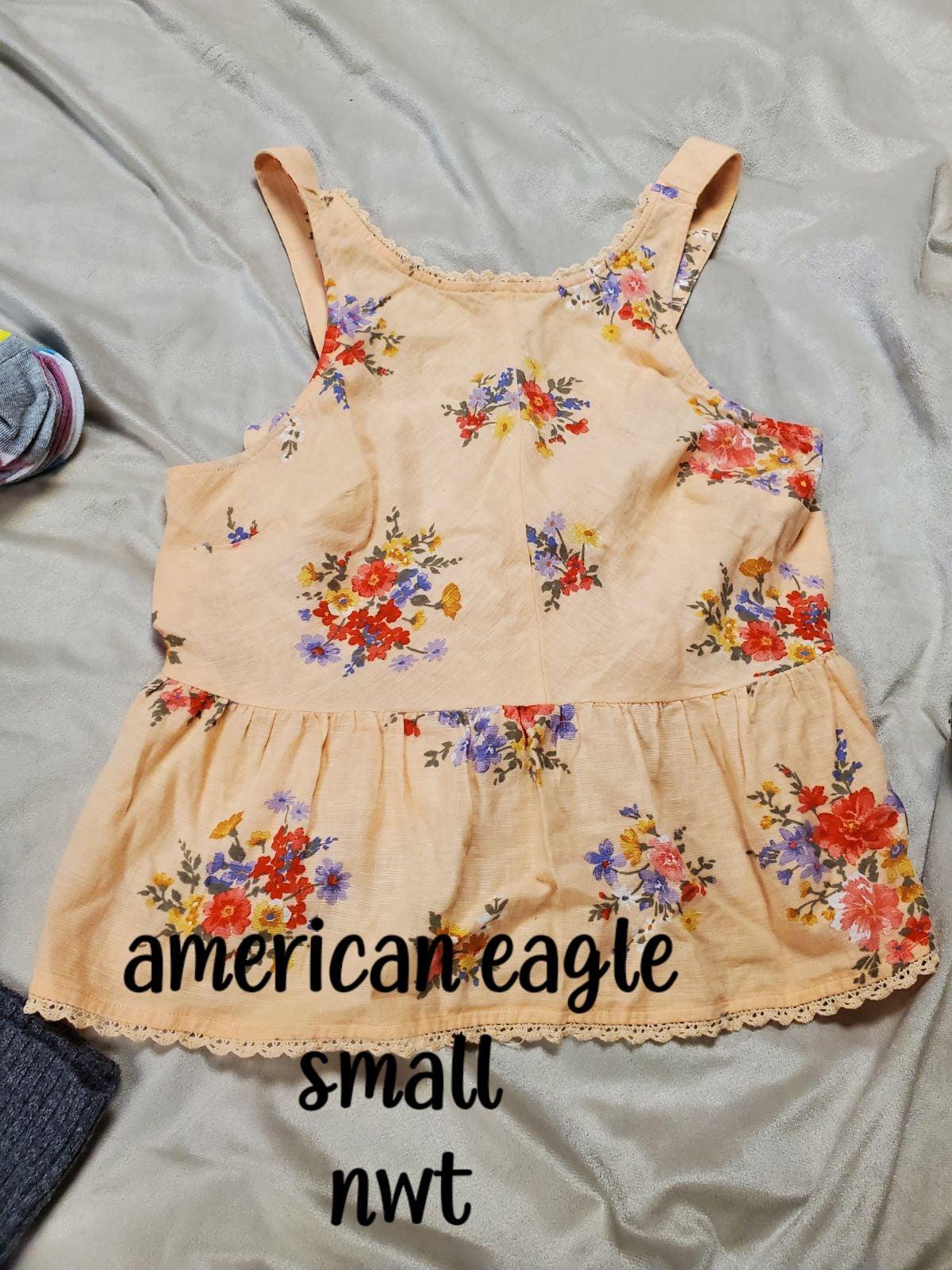 American eagle tank size small