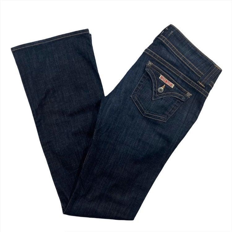 Hudson Jeans 28 Flare Boot Dark Wash