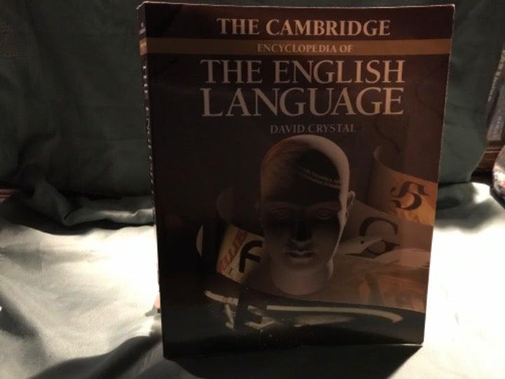 Cambridge encyclopedia of English book