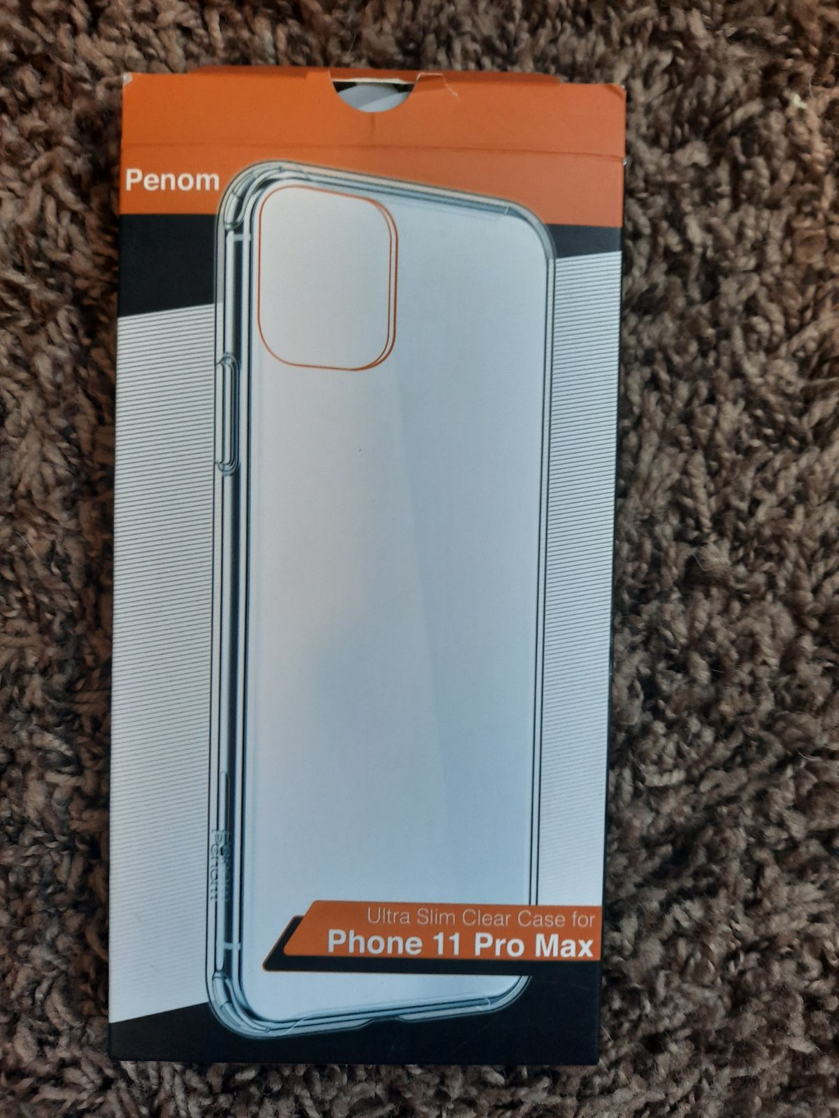 Penom Iphone11 case Pro Max Clear Ultra