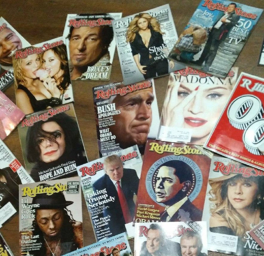 Rolling Stone Mag. Bk Issue ☆READ DESC☆