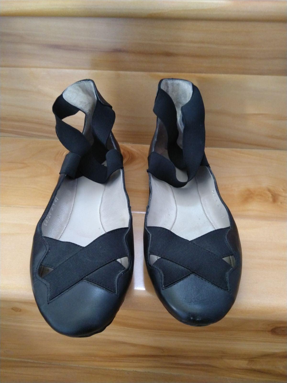 Bronx Black Ballet Flats Size 41