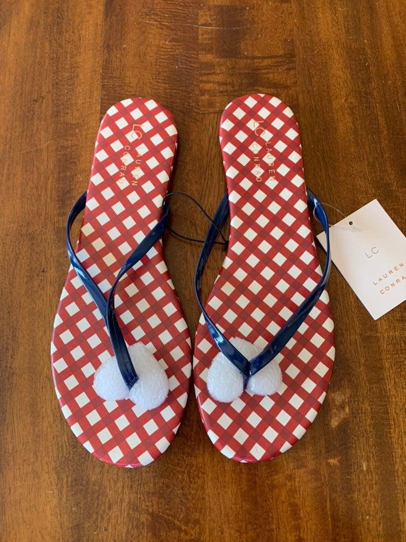 Flip Flops - Lauren Conrad - size 9