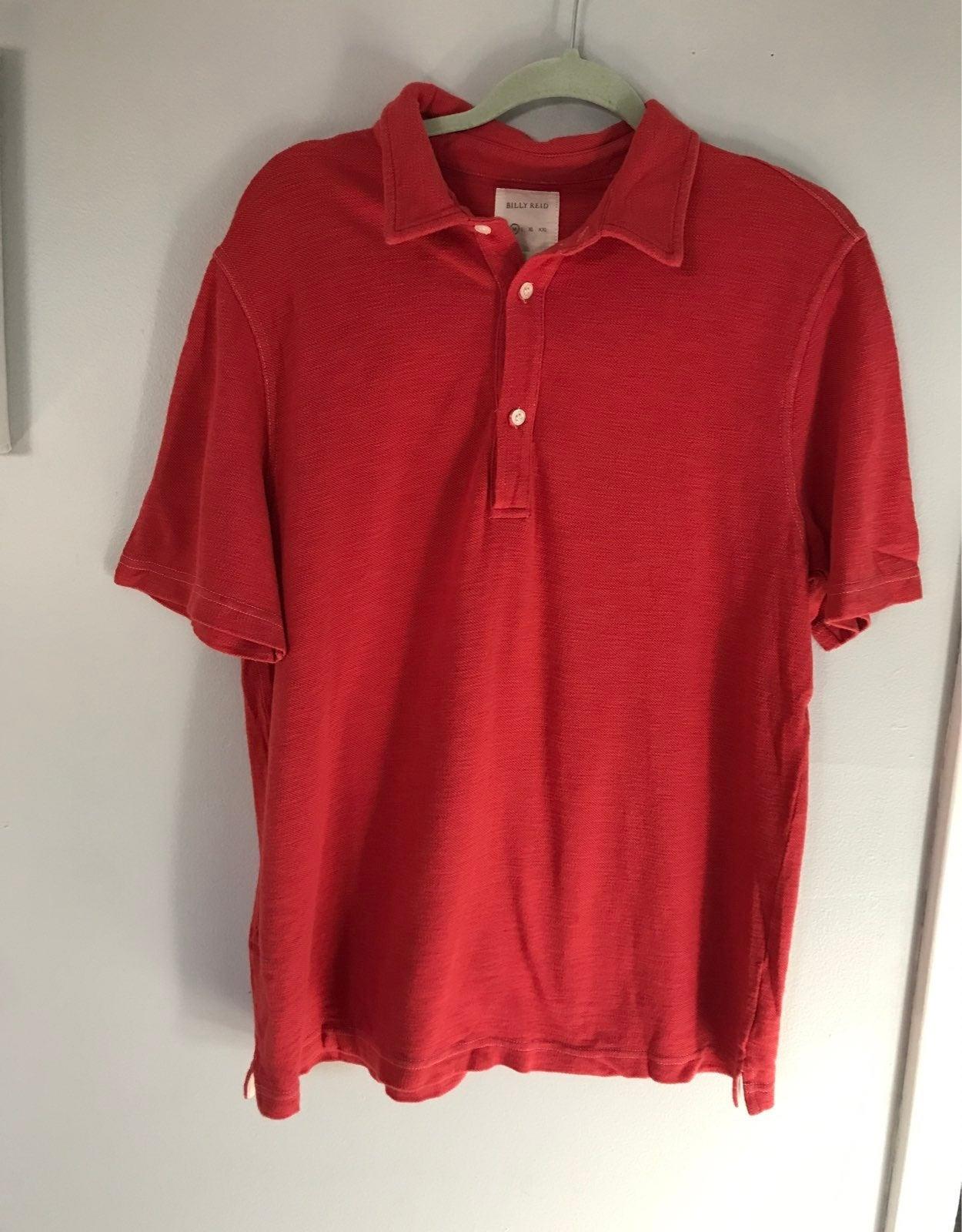 Polo Shirt Billy Reid Mens Size Medium