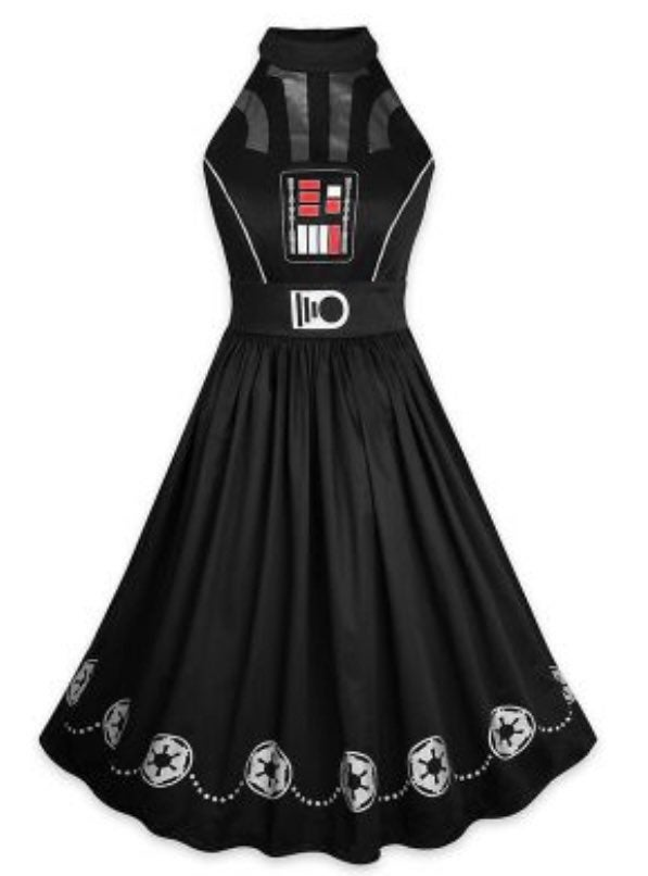 Disney Dress Shop Darth Vader Dress Sz 1
