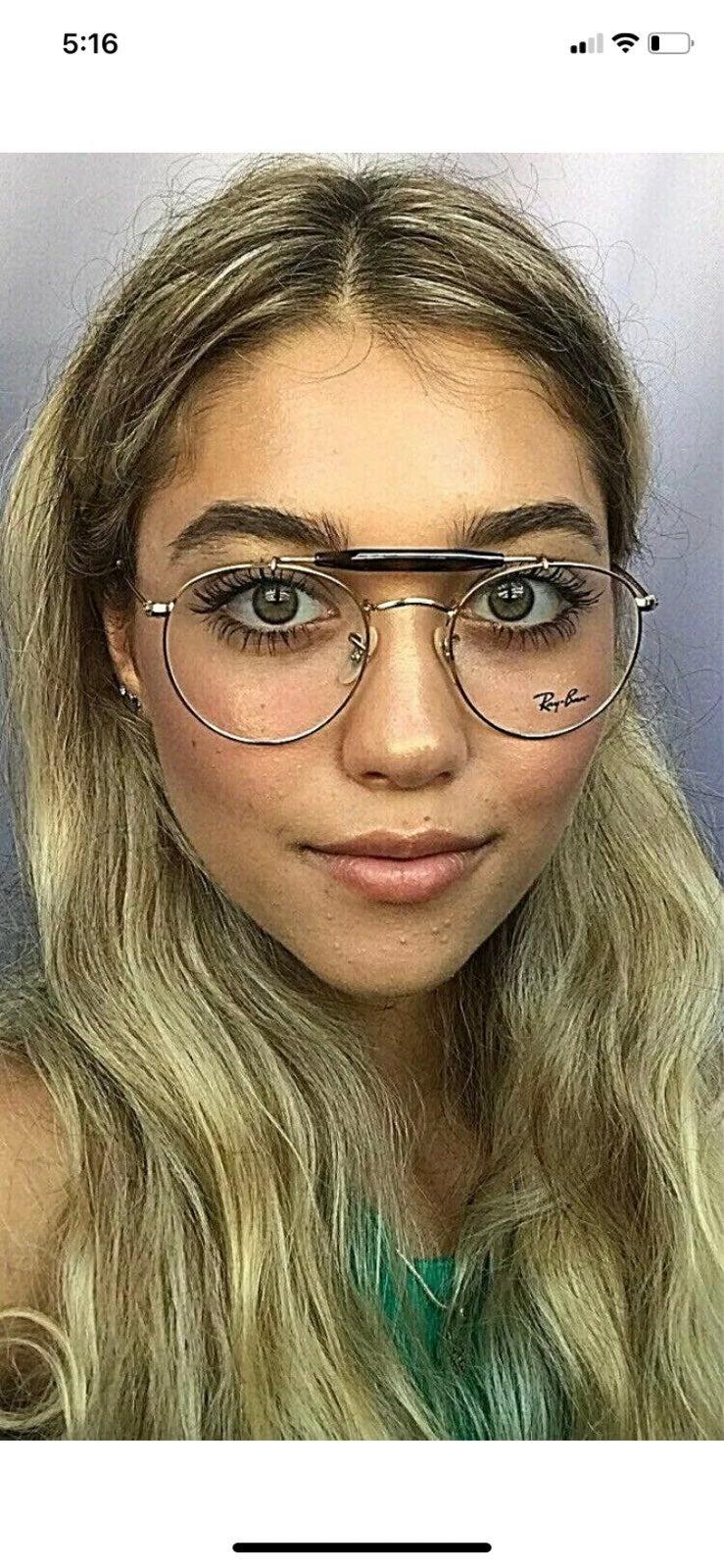 New Ray-Ban Round Gold Eyeglasses Frames