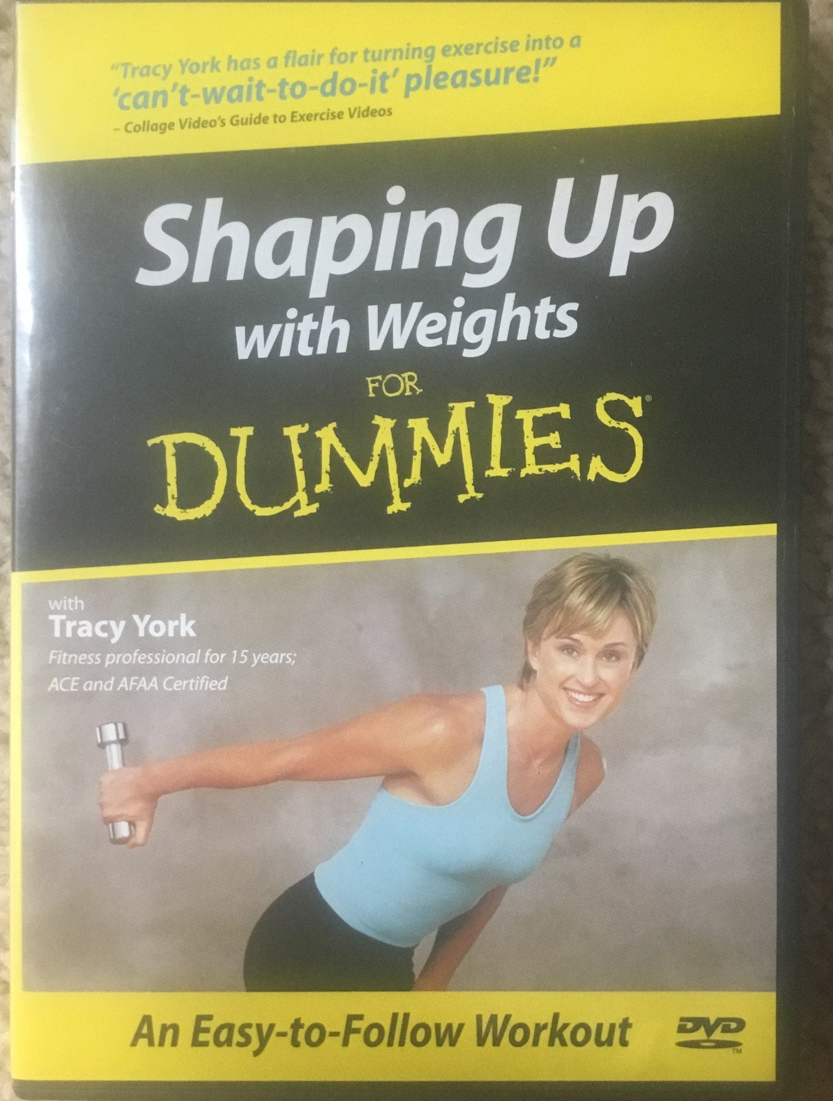 Shape Up with Weights for Dummies DVD