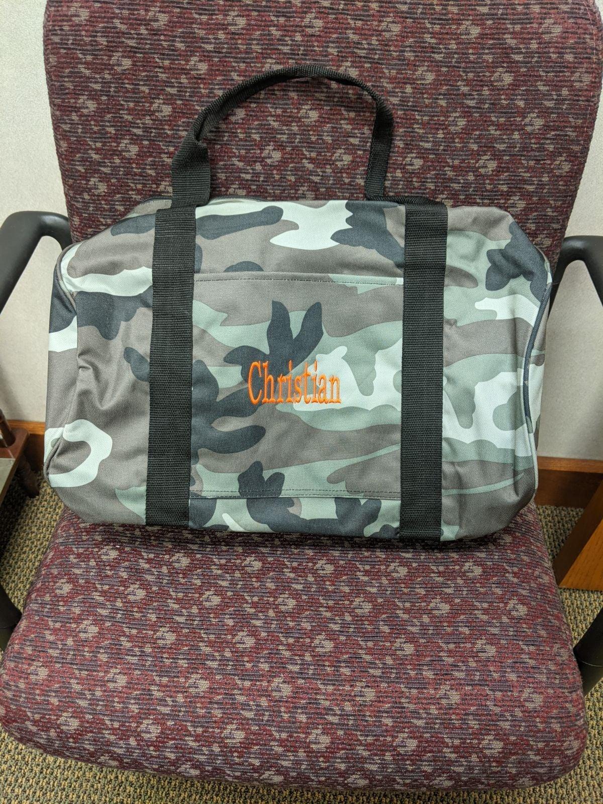 Duffel Gym Bag Camo 31