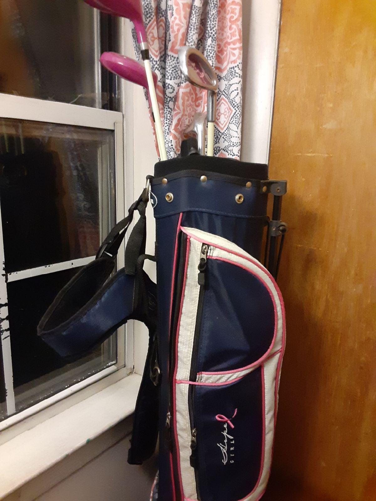 golf bag 4 pc
