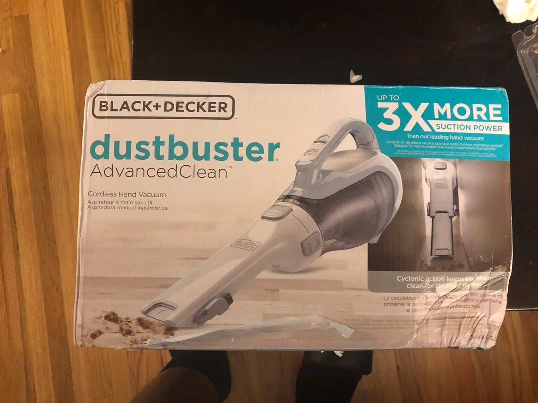 Black&Decker Dustbuster Advance Clean CH