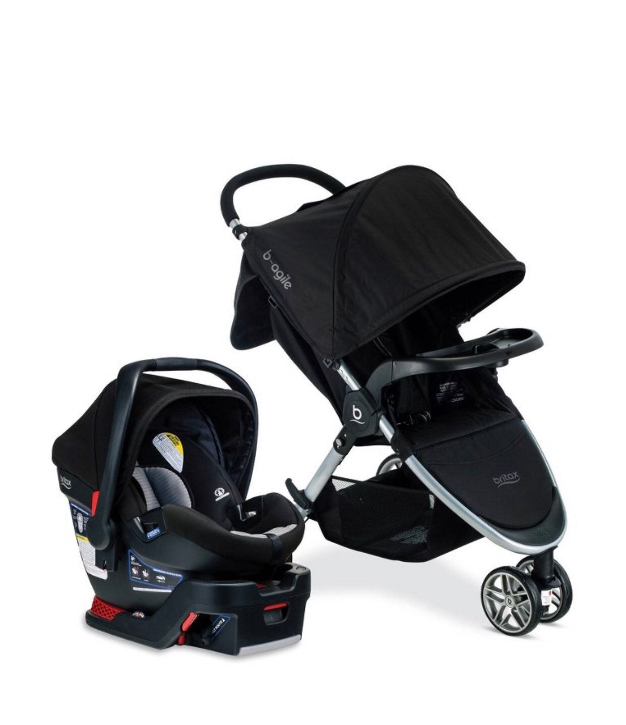 Britax B agile  Car seat and stroller se
