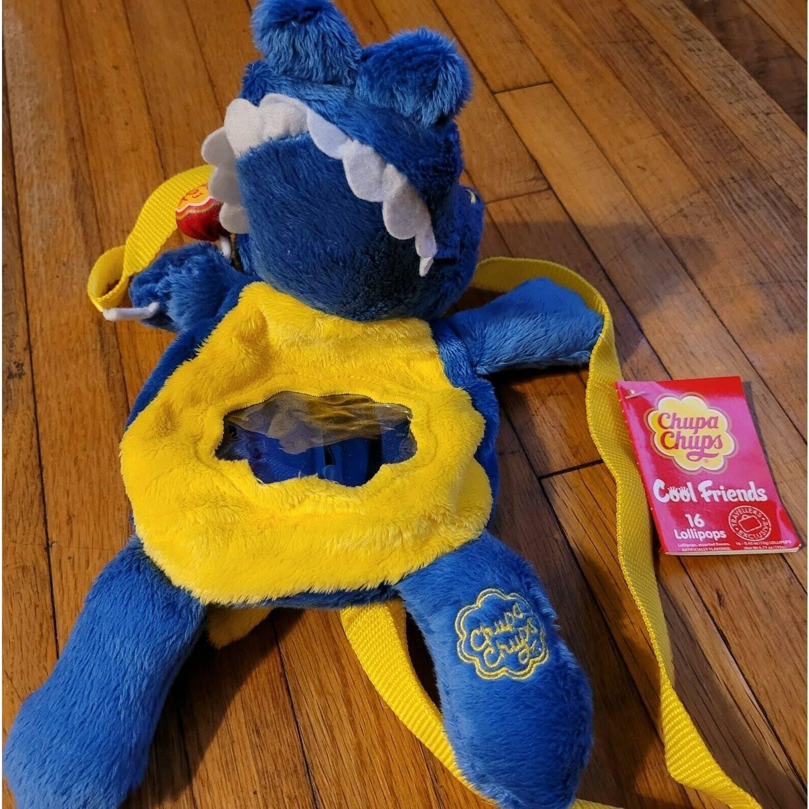 Chupa Chups Blue Dinosaur Backpack