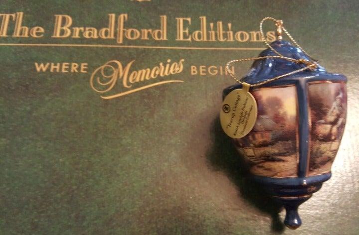 Thomas Kinkade Ornament Cover Tea Cup