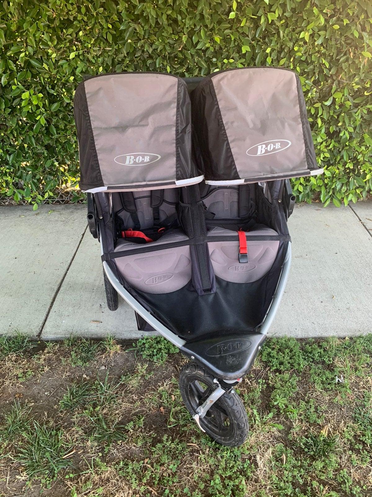 Bob flex double stroller