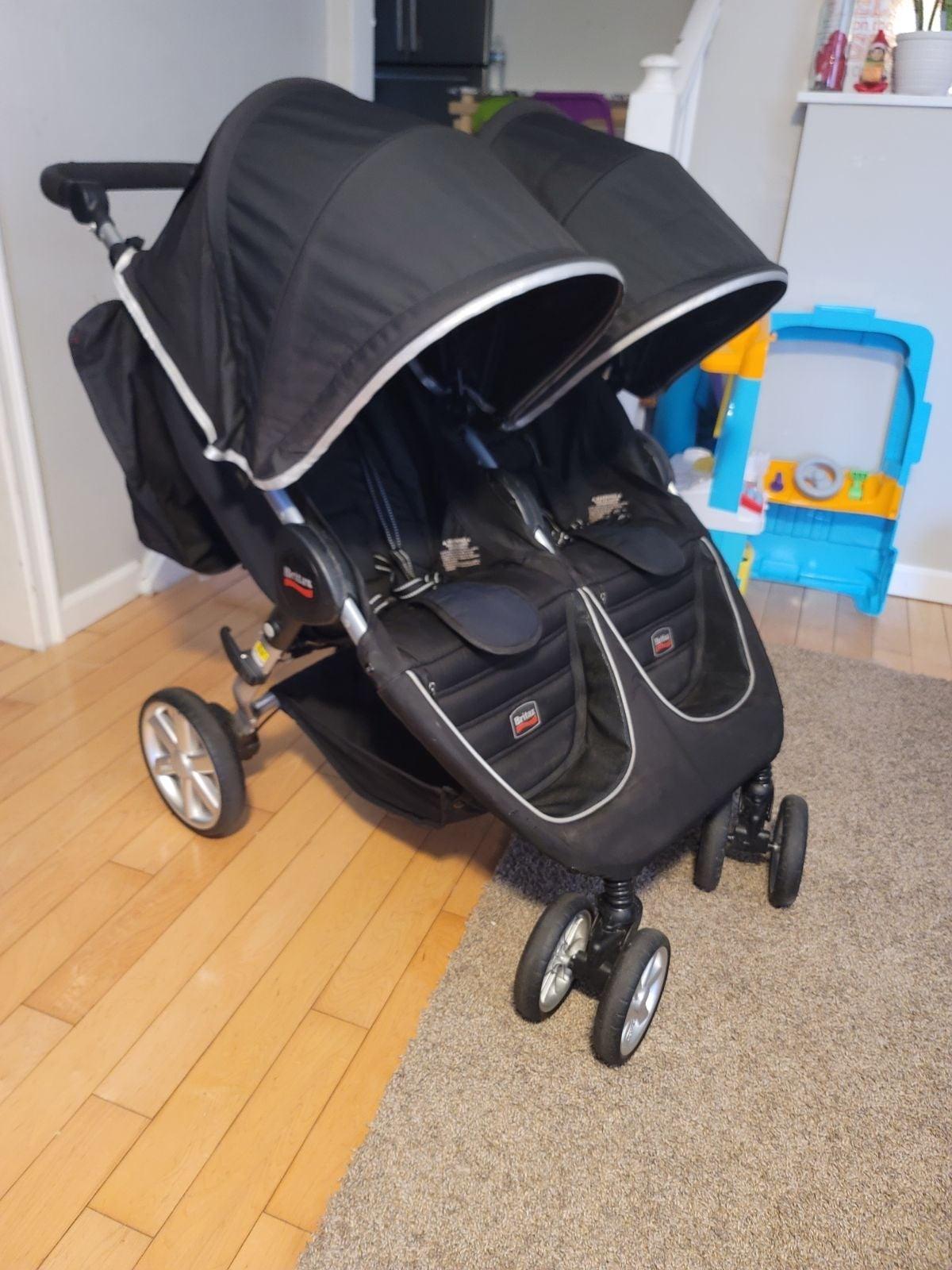 Britax b agile double stroller