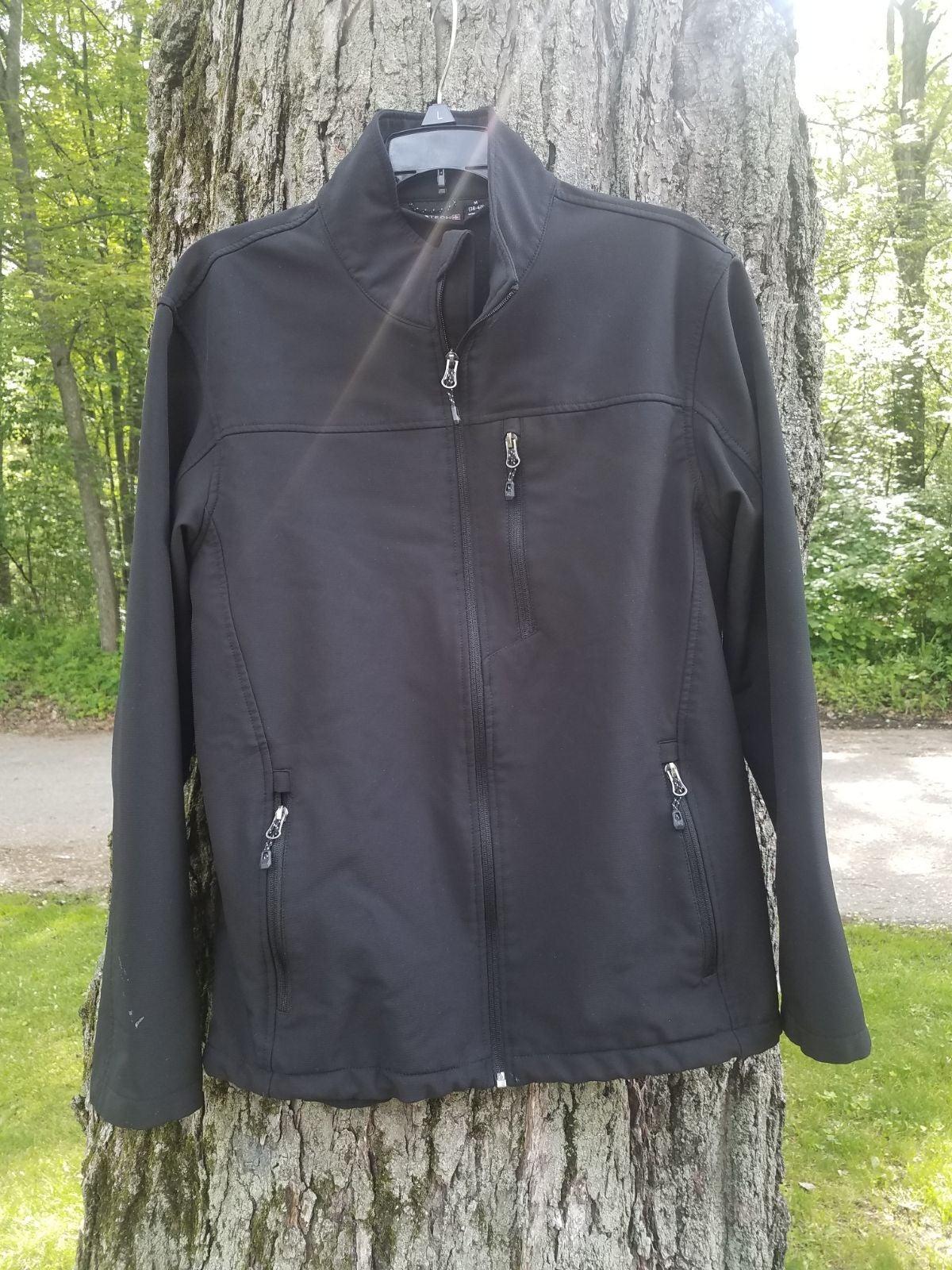 Mens K-Swiss Black Jacket Size Medium 38