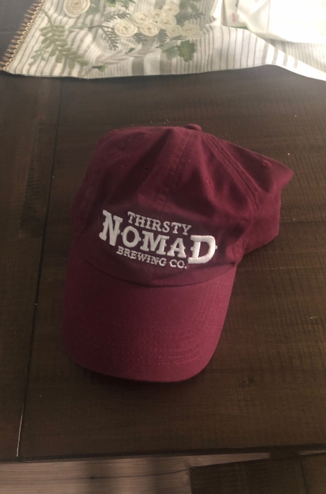 Thirsty Nomad Brewing Maroon Hat